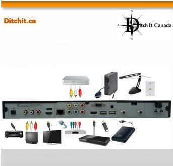 ePvision OTA PVR PHD-VRX2, Ditch It Canada